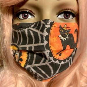 Johanna Parker fabric face mask